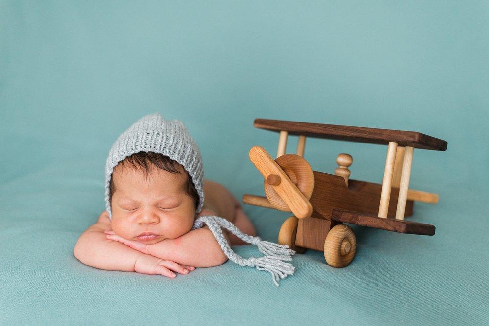 best-newborn-photographer-portland-oregon-sleeping-baby-aviator-knit-hat-airplane-shelley-marie-photography-9.jpg