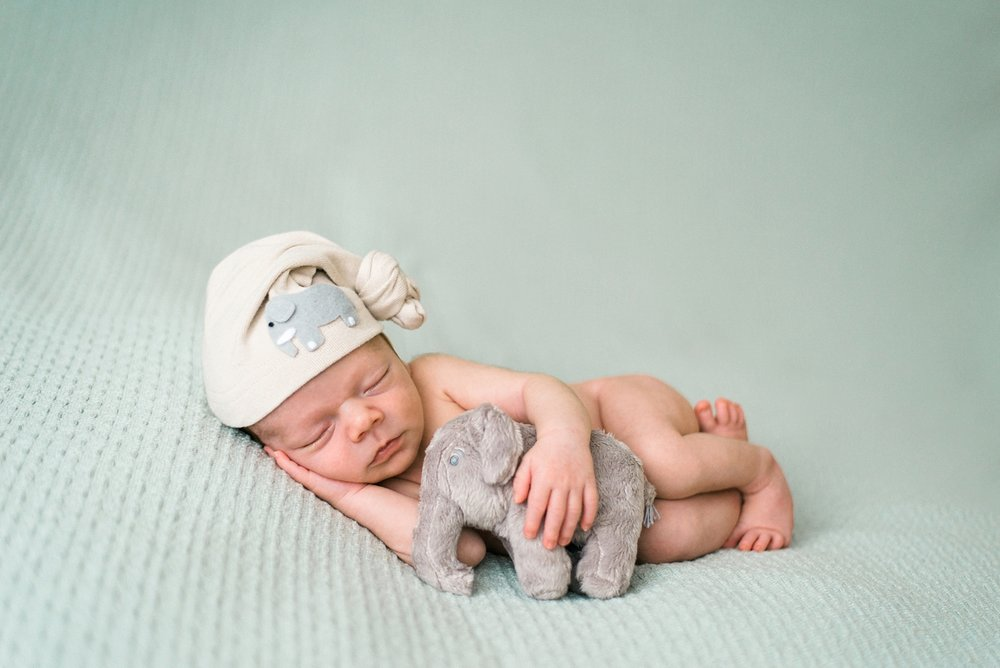best-portland-oregon-newborn-photographer-sleeping-baby-boy-cuddling-with-elephant-stuffed-animal-shelley-marie-photography-40.jpg