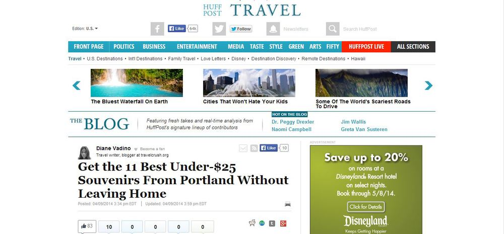 Huffington Post | Best Souvenirs from Portland