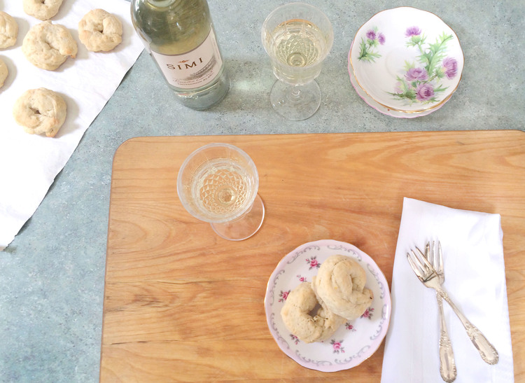 White Wine and Biscuits