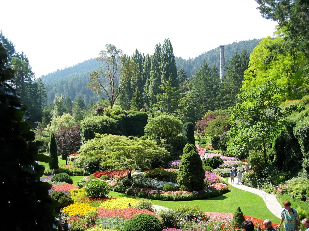Butchart Gardens, Brentwood Bay, British Columbia, Canada
