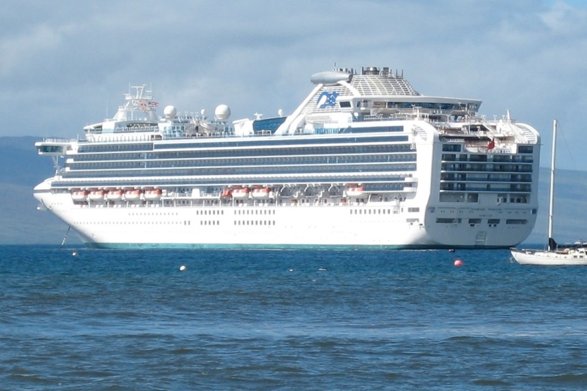 Diamond Princess, Hawaii