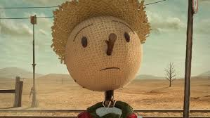 The Chipotle Scarecrow: innocent look but deadly core.