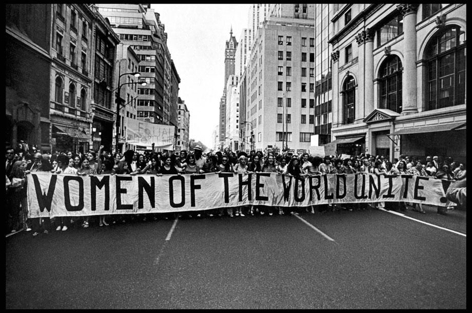 March for Gender Equality and Women's Rights, 1970. New York, New York.