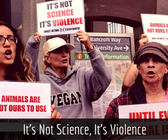 Saturday, January 16 - 12:30 PM Protest: It's Not Science, It's Violence ACUC Office, Berkeley