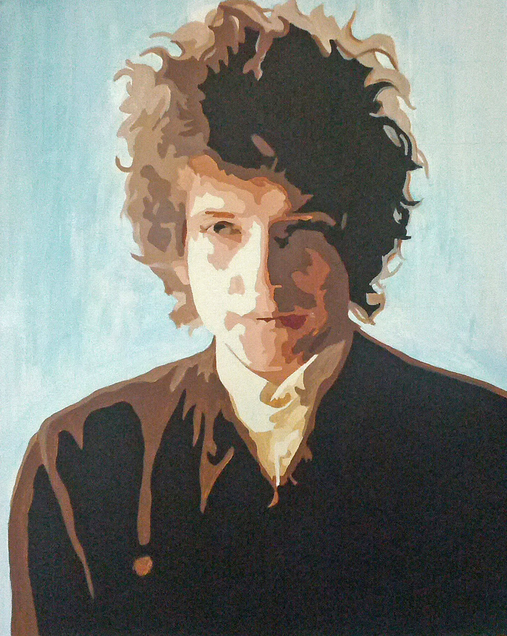 Bob Dylan   18 x 24 Acrylic on gallery wrapped canvas