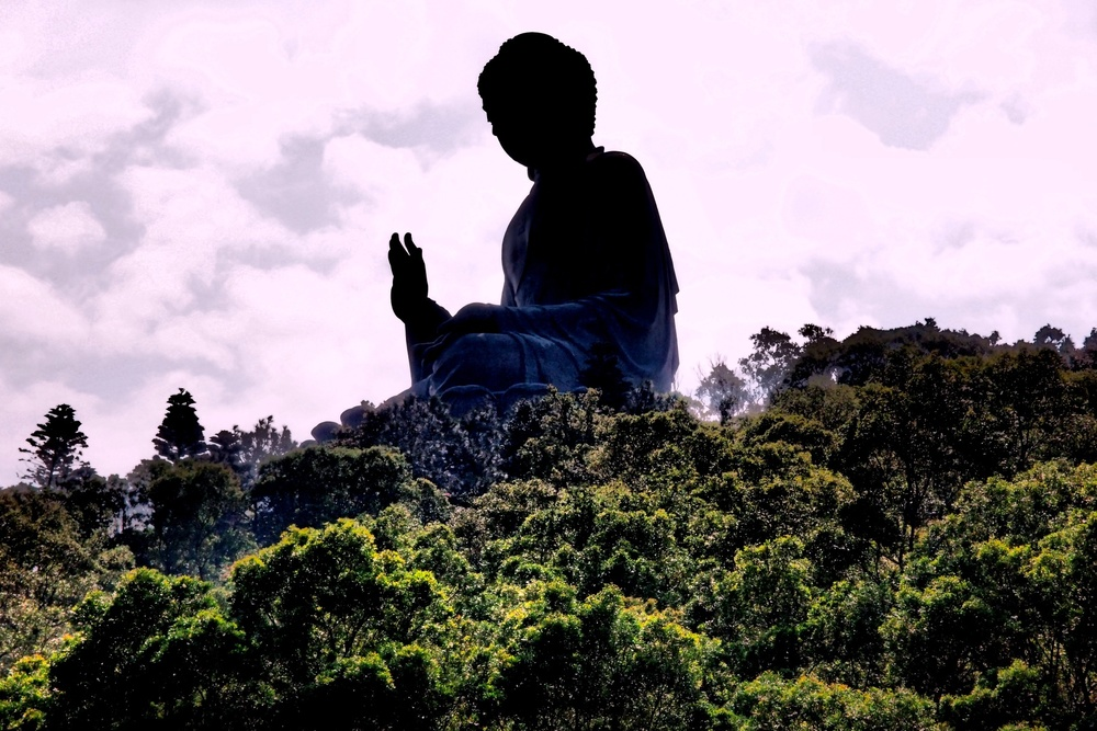 The Giant Buddha on Lantau Island