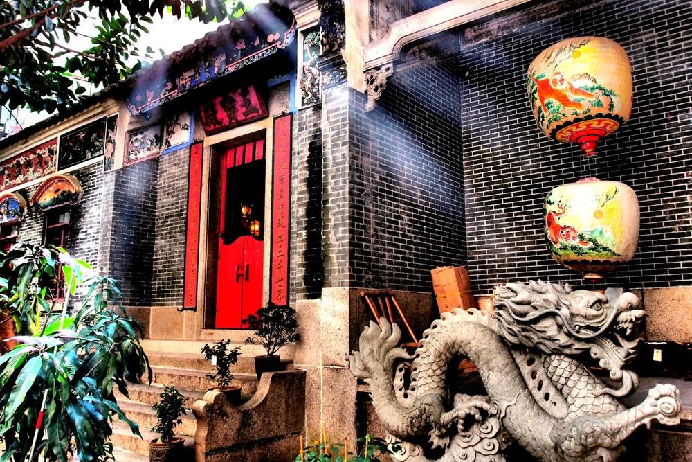 The Pak Tai Temple in Wanchai