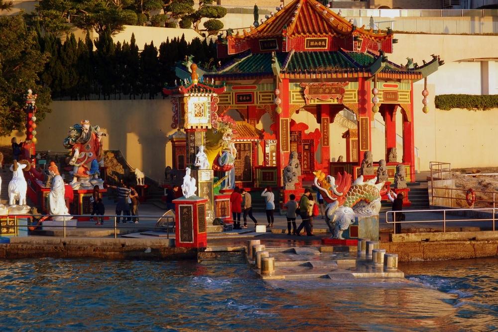 """Part of the Tin Hau """"Temple"""" complex at Repulse Bay"""
