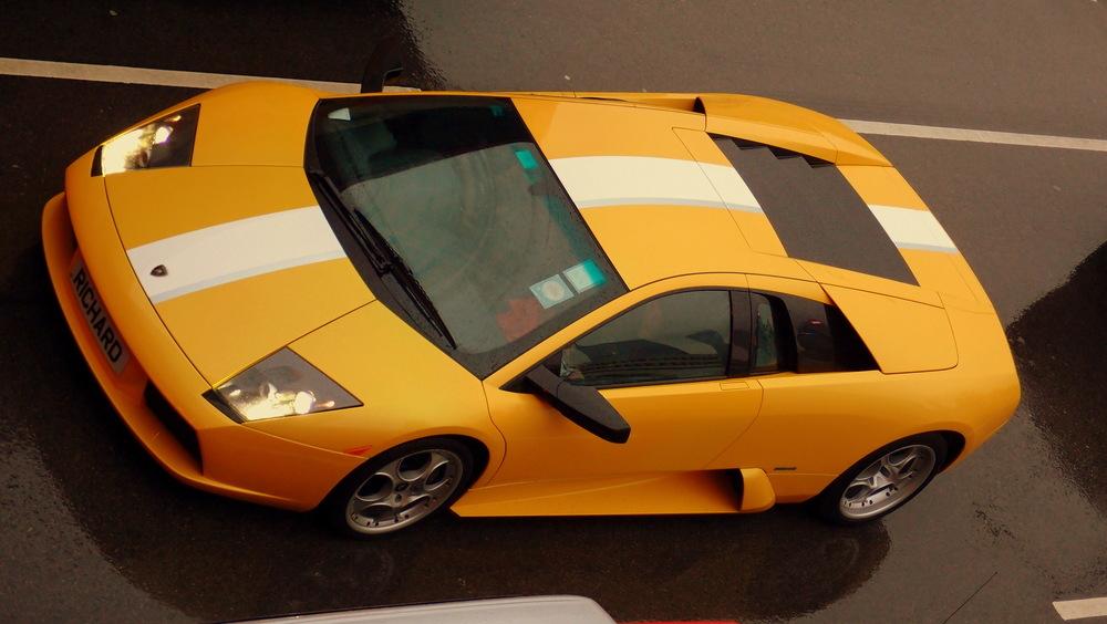 A somewhat racy Lamborghini