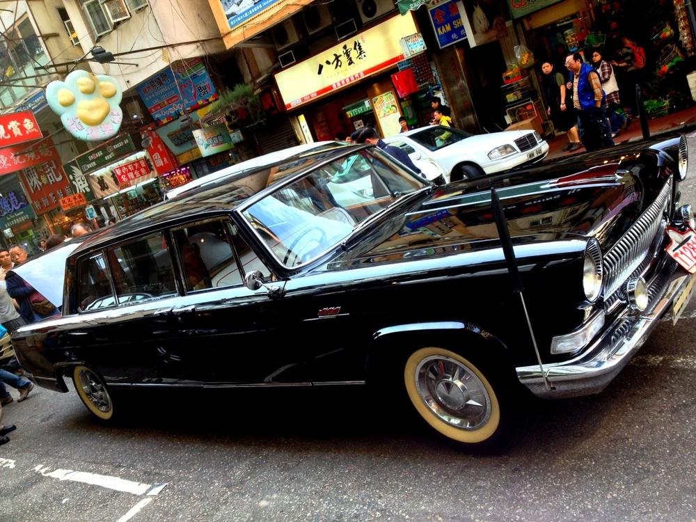 The Chairman Mao Red Flag car