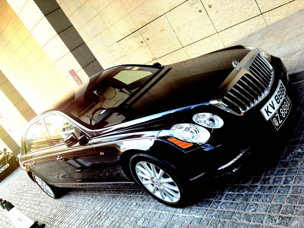 The Maybach and would be Rolls Royce killer