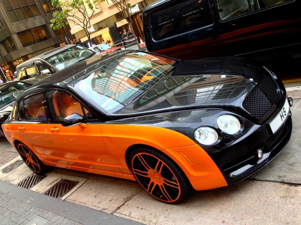 My favourite Bentley in Hong Kong