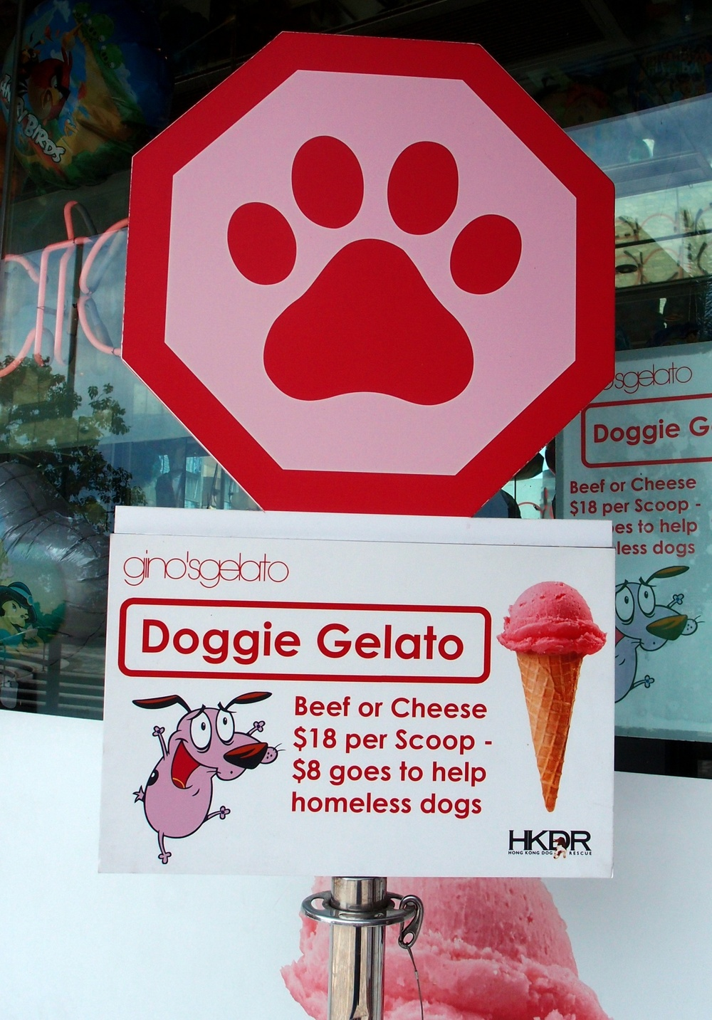 Ice cream for dogs, whatever next.