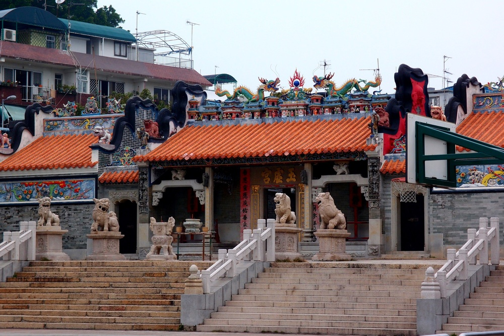 The famous Pak Tai Temple