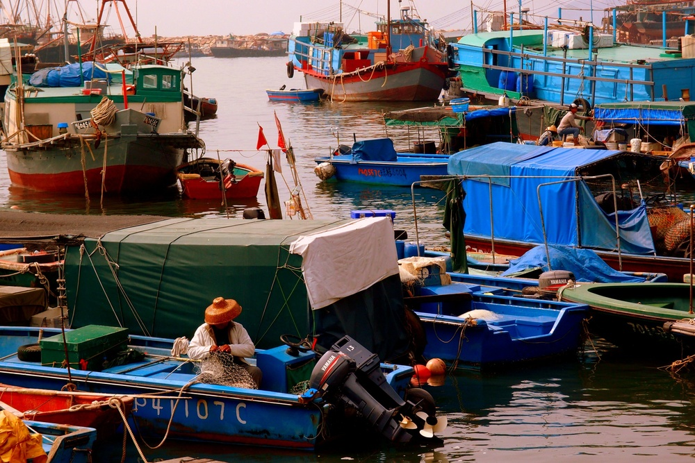 Yes, Cheung Chau is a fishing village