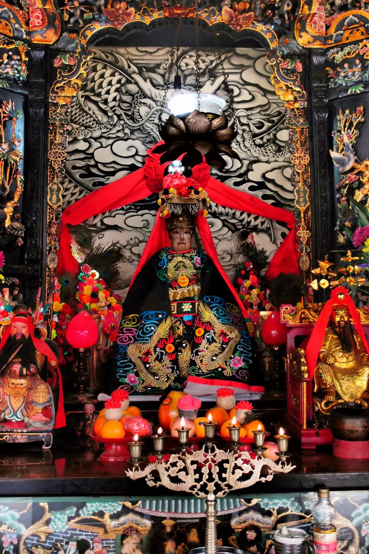 Inside the Pak Tai Temple
