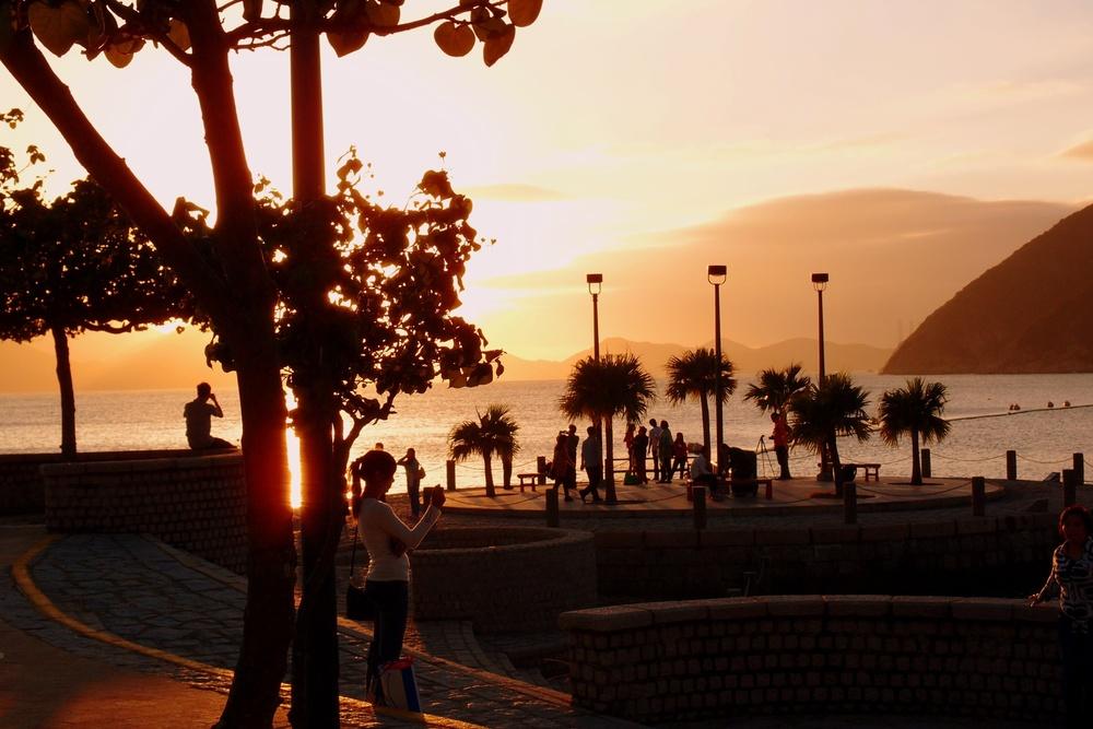 Sunset at Repulse Bay