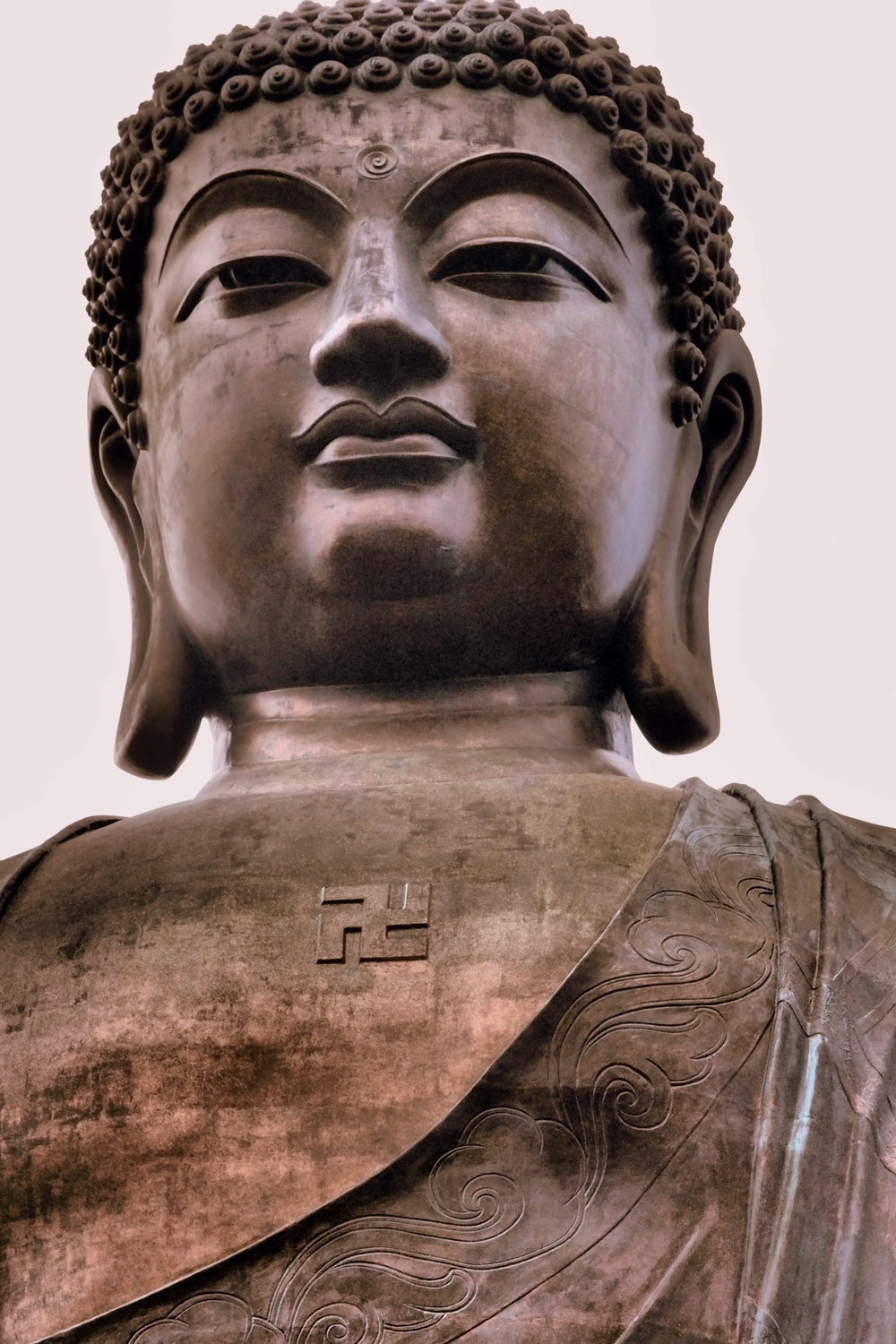 That is not a swastika but a Buddhist symbol of peace