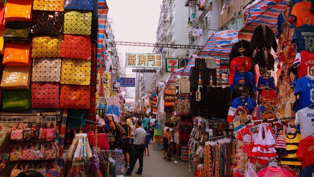 The Ladies Market in Mongkok