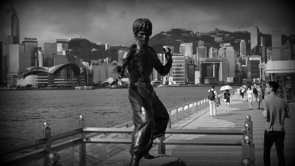 Oh, so iconic - Bruce Lee