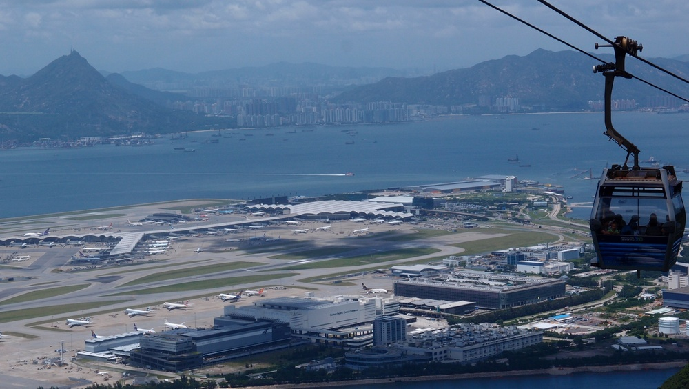 Overlooking our fabulous airport