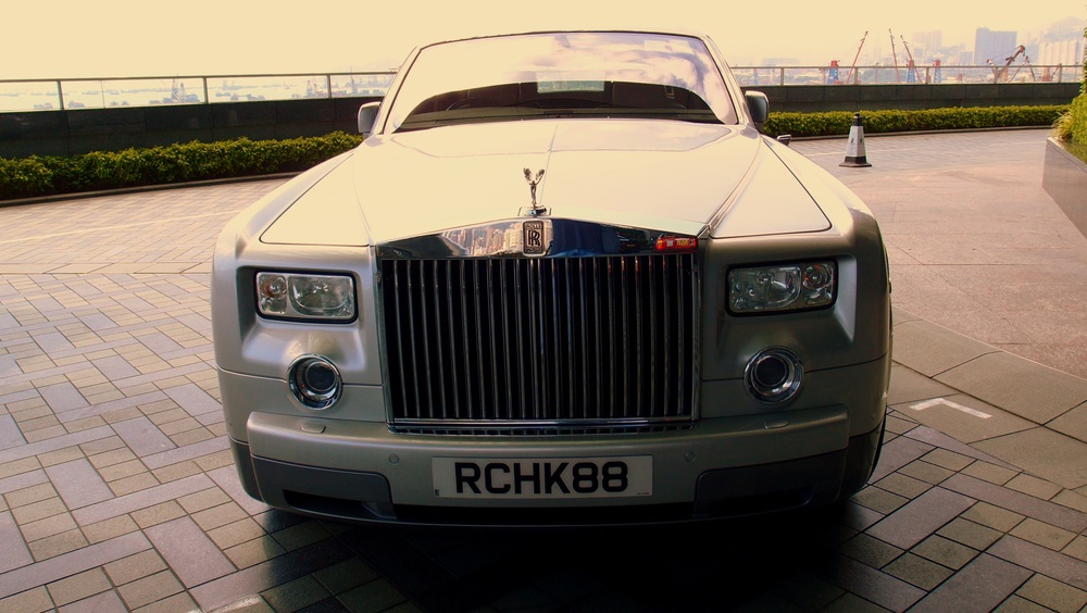 The Ritz Carlton Hotel Rolls Royce