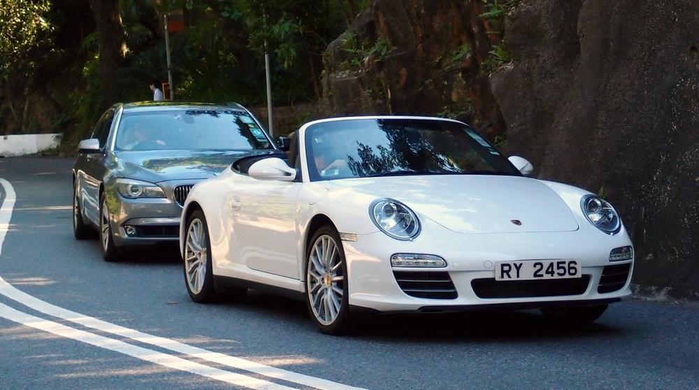 Nice Porsche on Stubbs Road