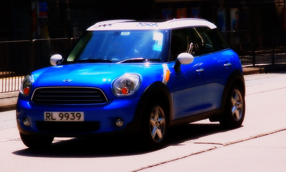 Not my favourite car - the Mini