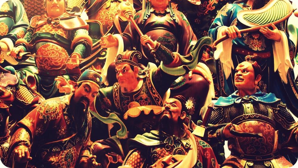 Town meeting of Taoist Gods