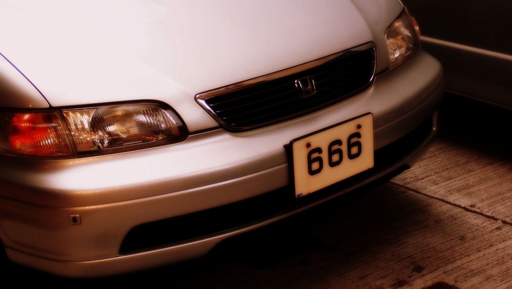 A bloody Honda!