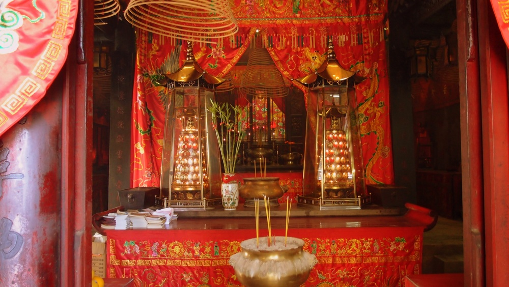 The Tin Hau Temple in Tin Hau