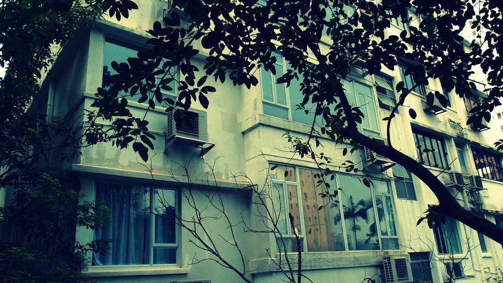 I lived in this old apartment block on Bowen Road from 1972 to 1974