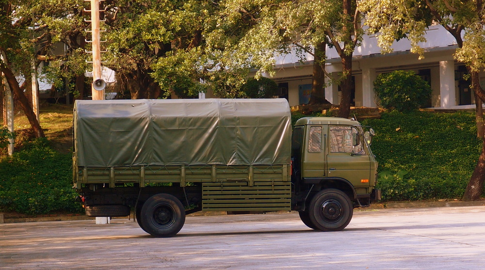 A Chinese Army truck