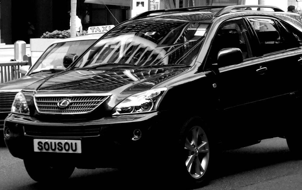 "SuSu in Tagalog (the national language of the Philippines) means boobs, I also pronounce the words on the number plate ""SuSu"" - not much more you can really say then."