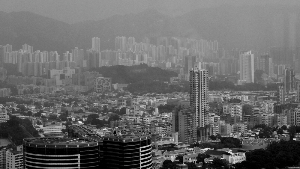 A view of Mongkok and Kowloon Tong from Langham Place in Mongkok