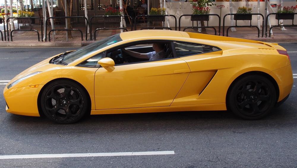 Same Lamborghini