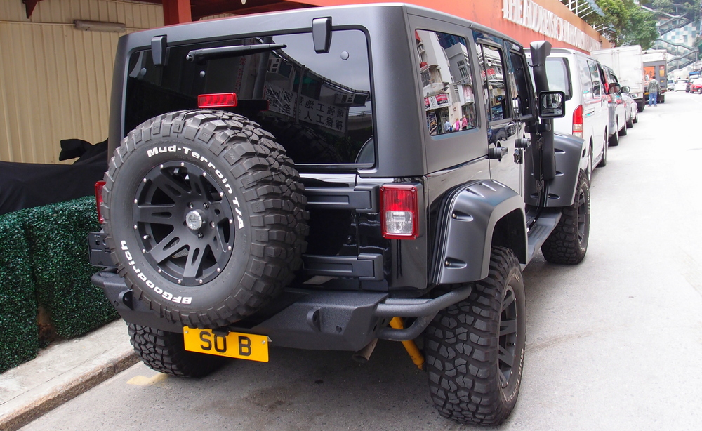 Nice Jeep, nice number plate