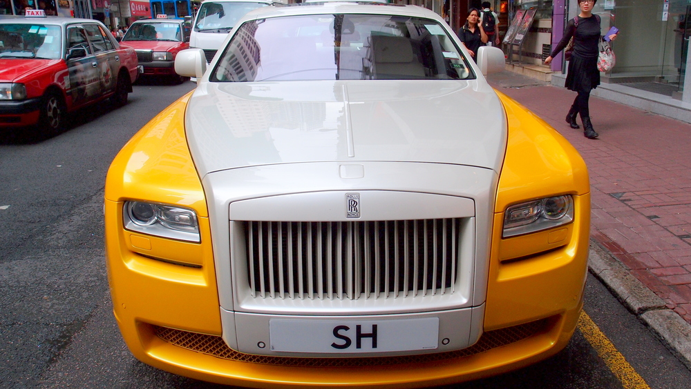 A gorgeous Rolls Royce Phantom