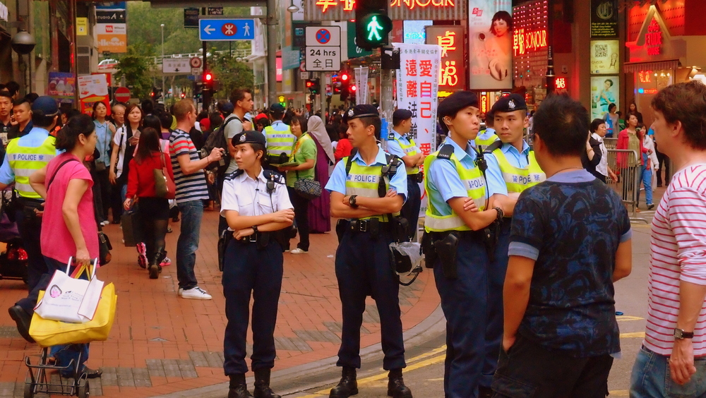 Another Hong Kong Street Protest
