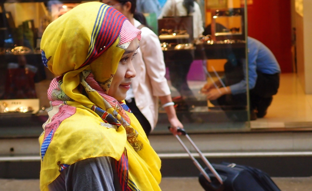 An Indonesian maid in Causeway Bay
