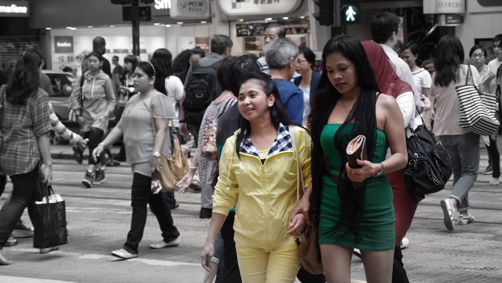 ...and some more Indonesian maids