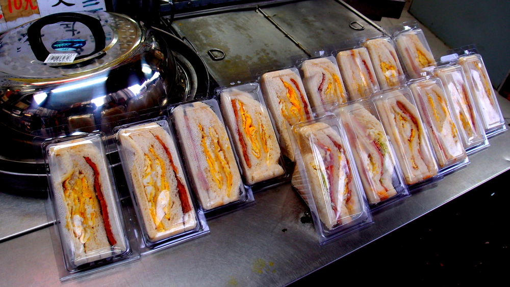 The humble egg sandwich, perhaps Hong Konger's favourite breakfast food.