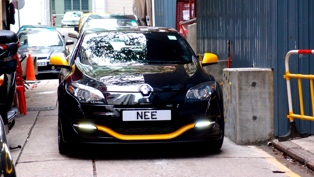 A Monty Python fan with a great number plate - he is obviously a Knight who says Nee!