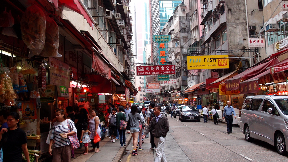 I love Wanchai, lot's going on