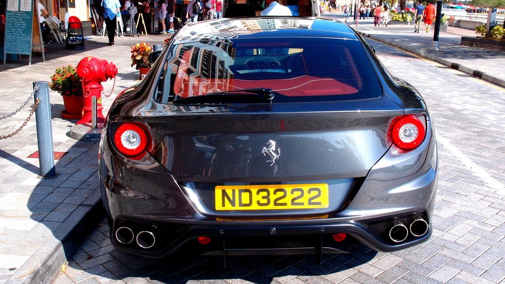 A Ferrari FF - simply magnificent