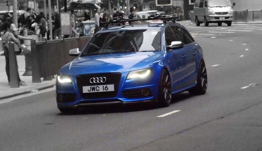A hot shot Audi