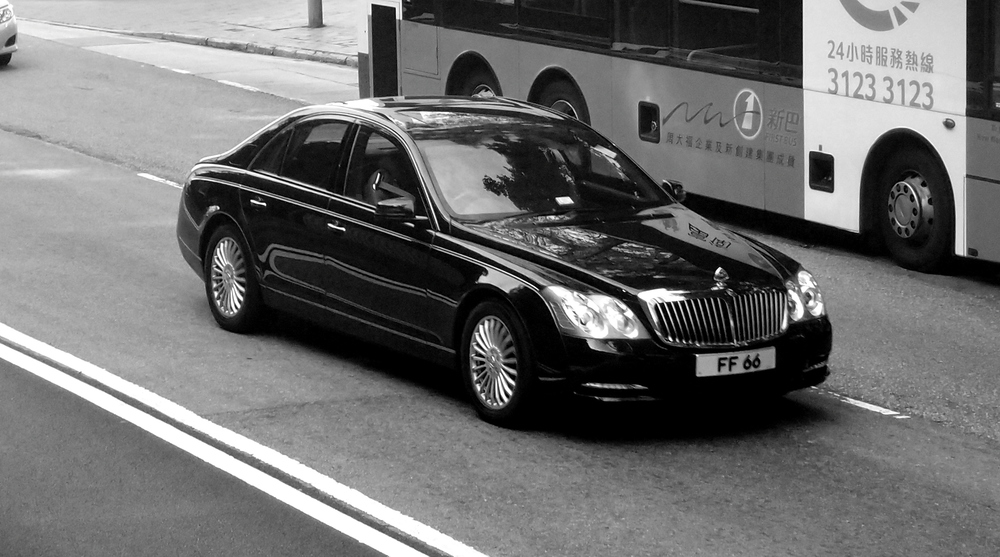 I can't say I am a fan of the Maybach which is the choice of car here for the bajillionaires, I think the Rolls Royce Phantom is a far superior car.