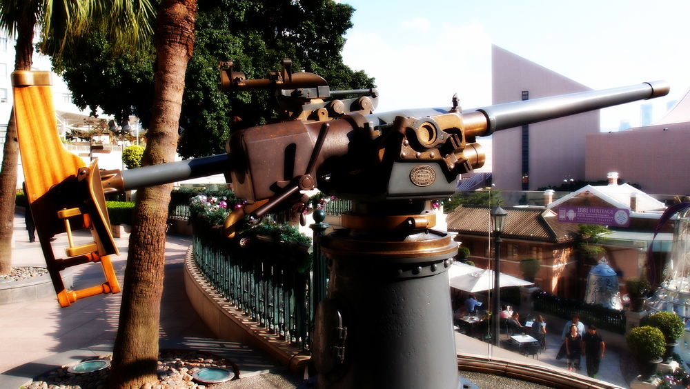 The Noonday gun