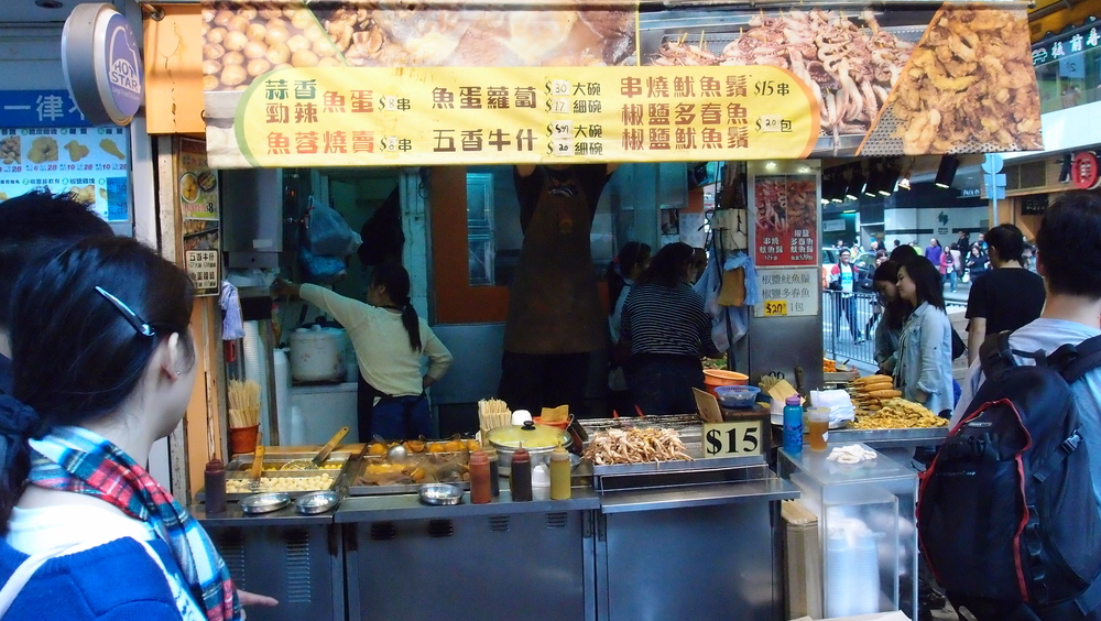 This is as good as it gets for street food